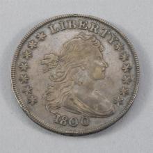 1800 draped Bust silver dollar