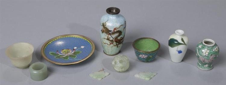Collection of Asian Miniature Decorative Articles