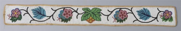 Teepee strip, Great Lakes Tribe, Woodland Indian
