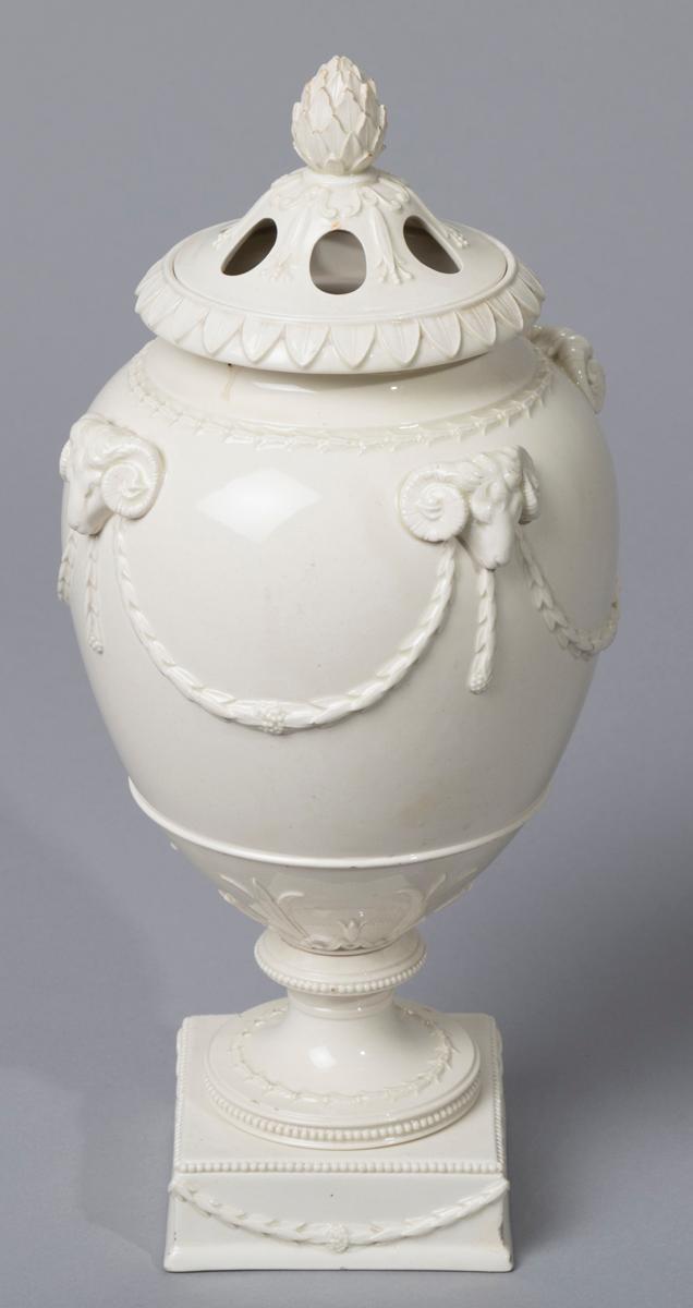 Wedgwood Queensware Potpourri Vase and Cover