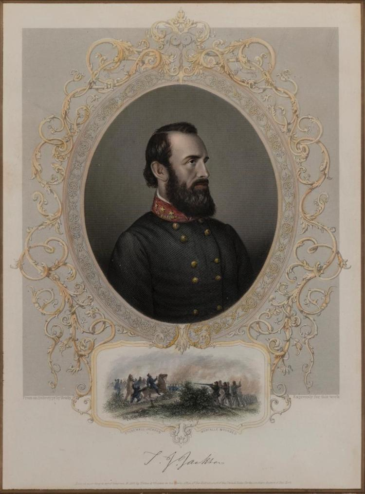 Stonewall Jackson, Mortally Wounded,