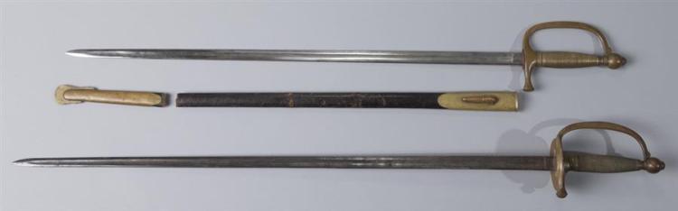 Two Civil War Union Infantry Swords.