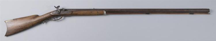 Antique Kentucky long rifle.