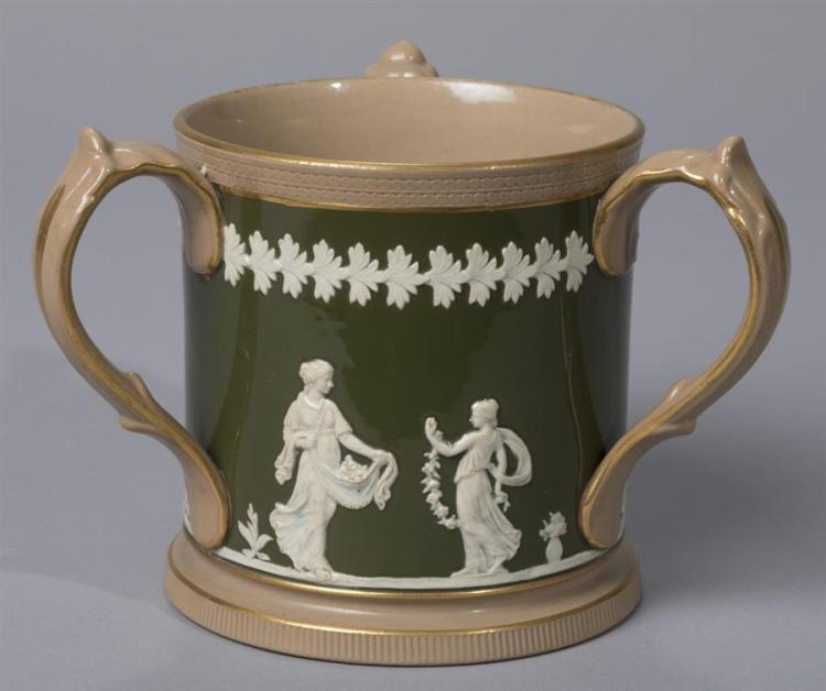 Copeland, Late Spode three-handle Loving Cup