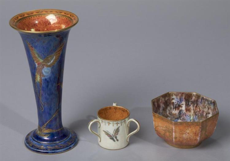 Three Wedgwood Fairyland Lustre Articles