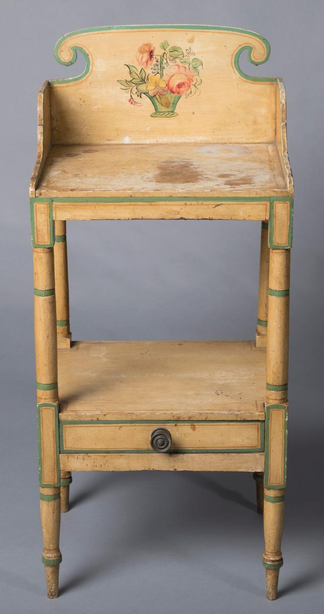 Antique Sheraton Wash Stand, circa 1825