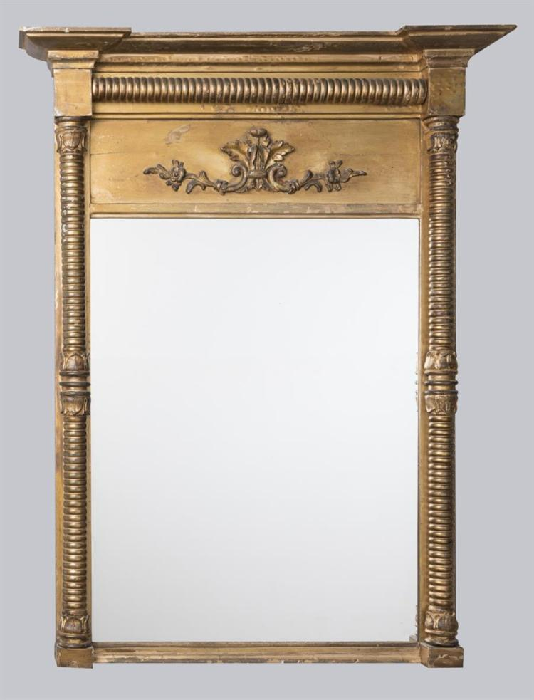 American Federal Period gilt mirror, circa 1825