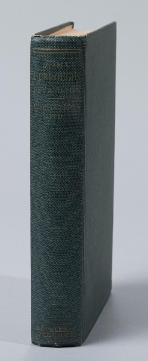 Barrus, Clara: John Burroughs, Boy and Man. Doubleday, Page, 1920.