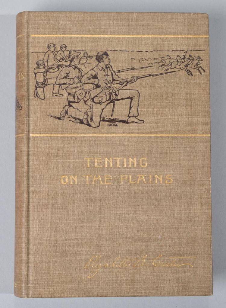 Custer, Elizabeth: Tenting on the Plains, or General Custer in Kansas and Texas. Harper, 1895.