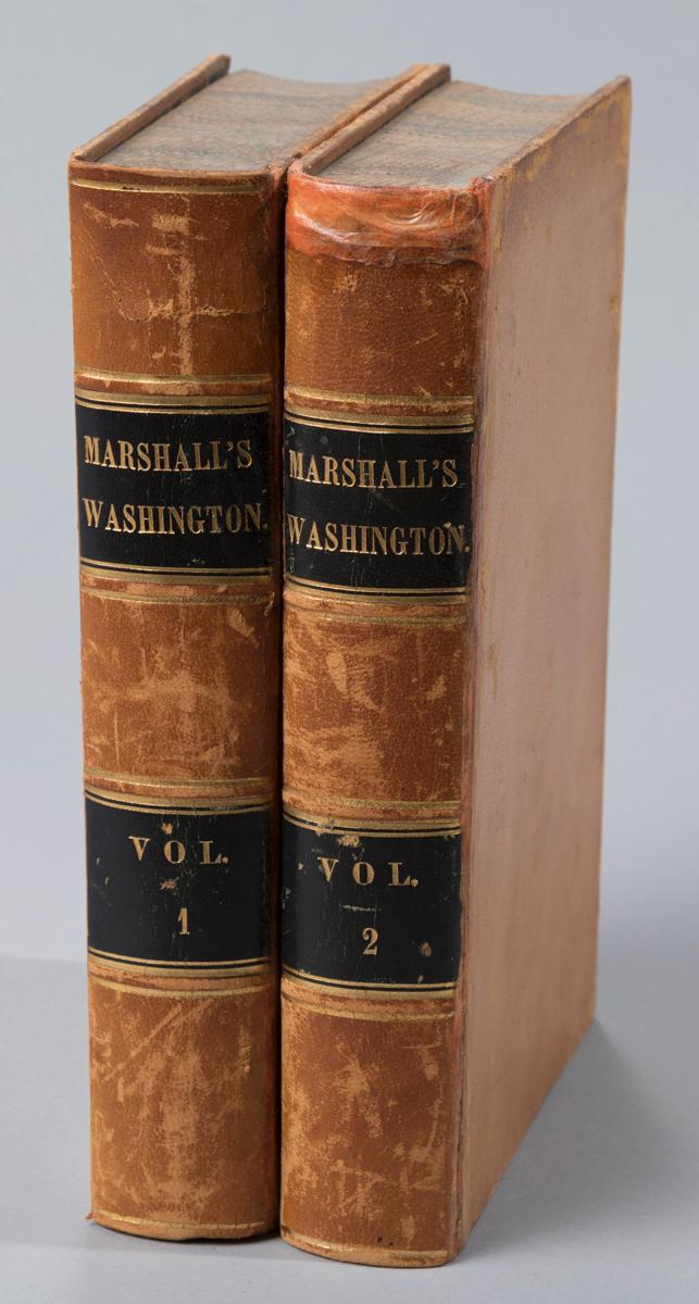 Marshall, John: Life of George Washington. Phila., 1848.