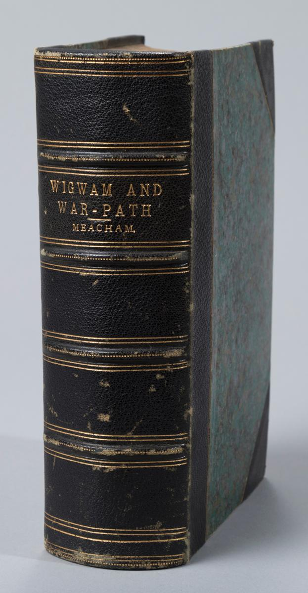 Meacham, A.B.: Wigwam and War-Path. Boston, 1875, second and revised edition sated on the title page.