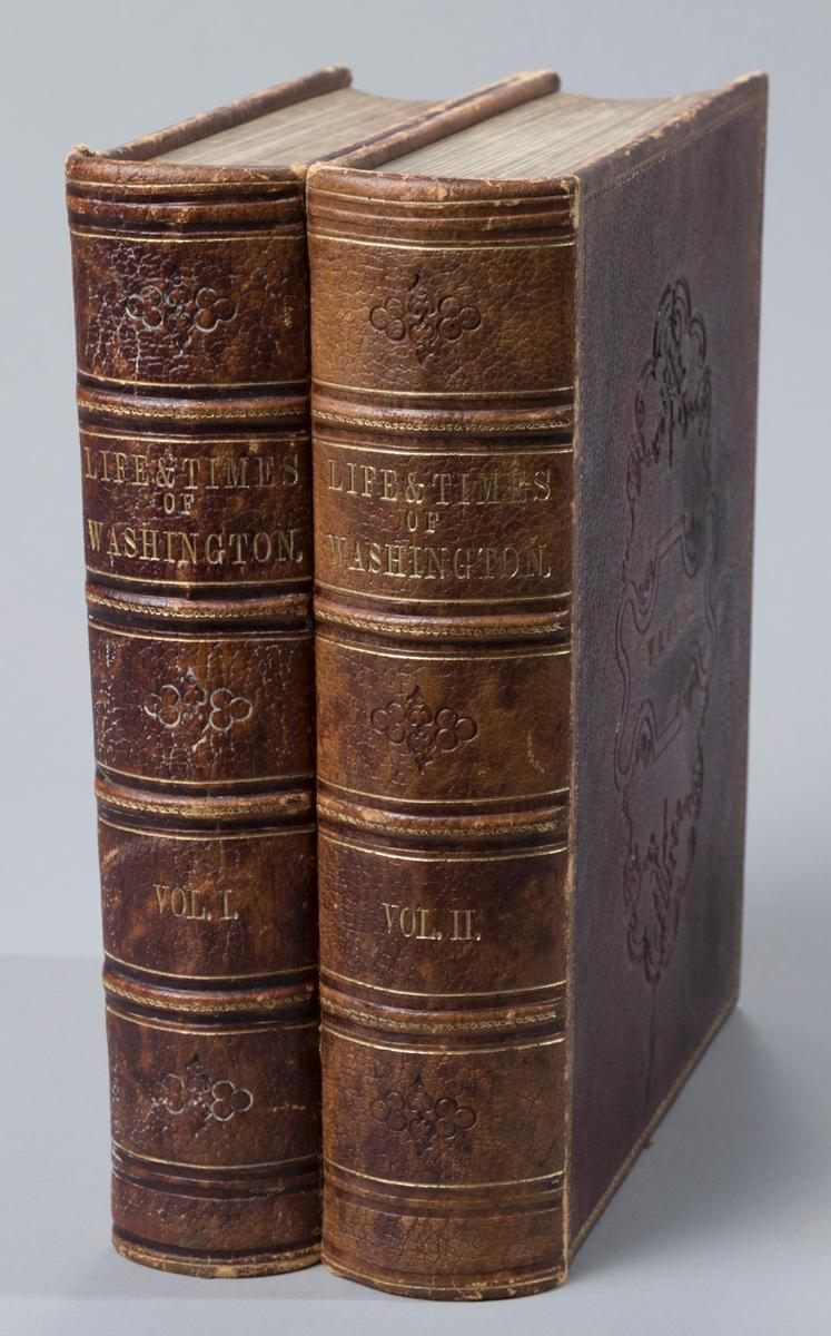 Schroeder, John: Life & Times of Washington. NY, 1857, first edition.