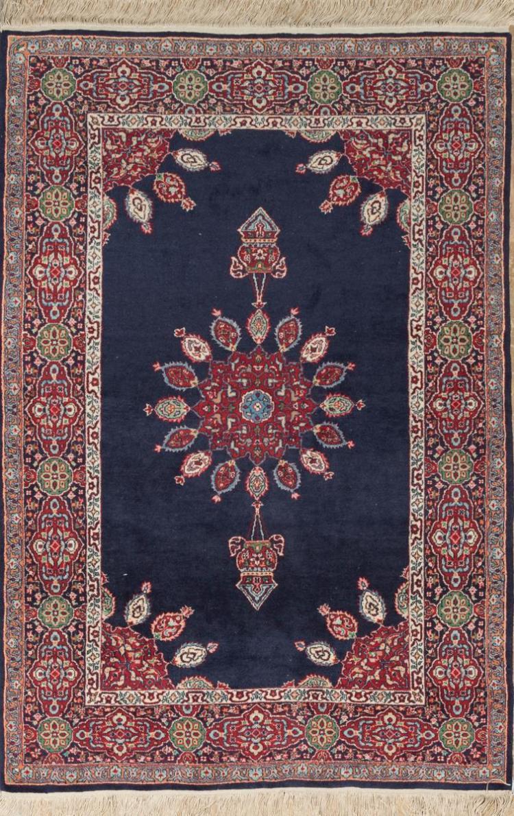 Persian Design Throw Rug