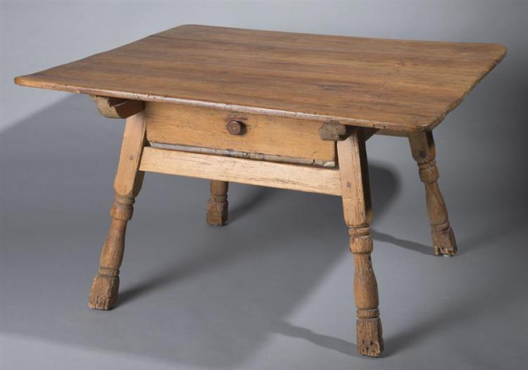 Austrian 19th century primitive wooden table for Table th link