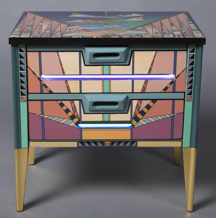 Alan Olsen Modern Two Drawer Cabinet