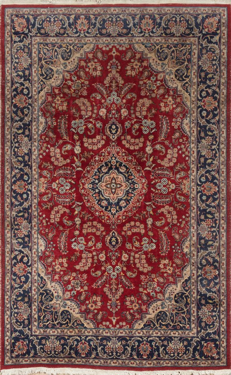 Jaipur Indian Kashan design with all over vine and floral