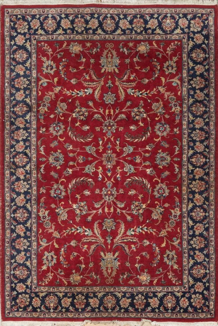 Pakistan Kashan Throw Rug