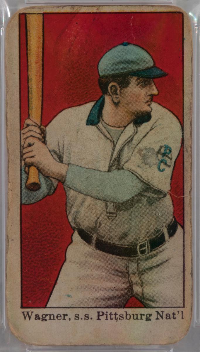 Honus Wagner Batting, 1909