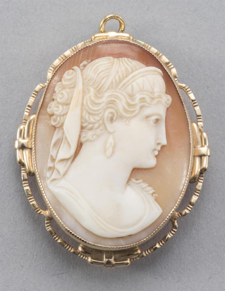 Traditional Conch Shell Cameo