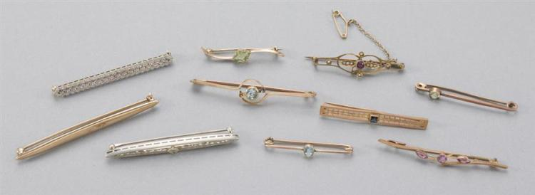 Collection of vintage bar Pins