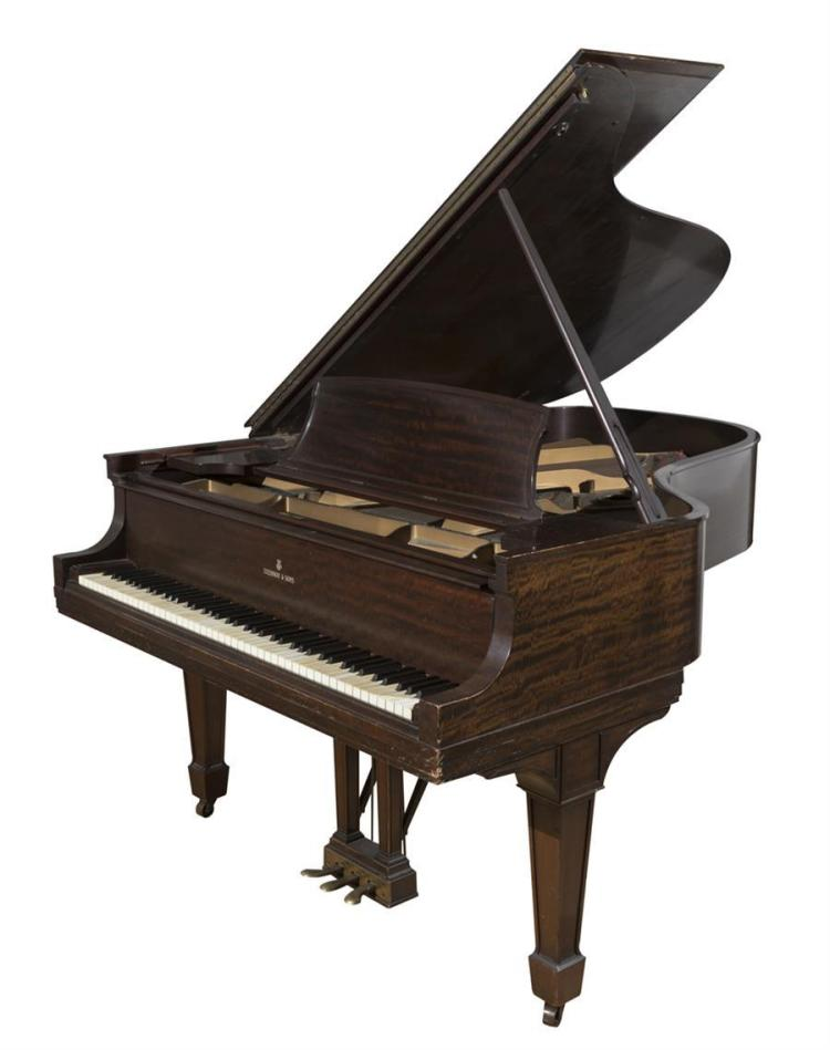 Steinway and Sons 1931 model A grand piano Property from the Estate of Carl G. and Alma C. Stifel