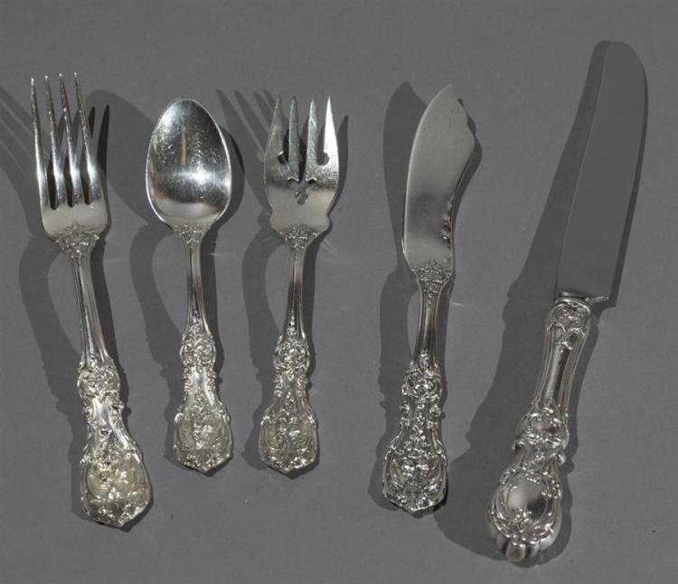 Reed & Barton Sterling Silver FRANCIS I flatware set