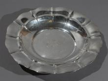 Gorham Sterling Silver Centerpiece Bowl STANDISH Pattern Property from the estate of Carl G. and Alma C. Stifel.
