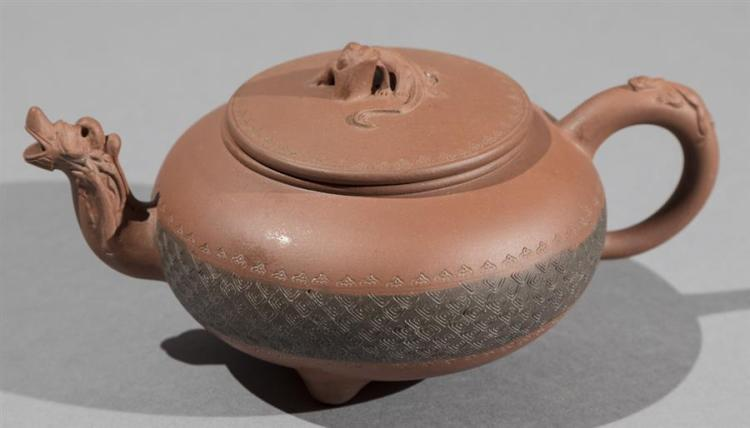 Chinese Yixing Clay Teapot