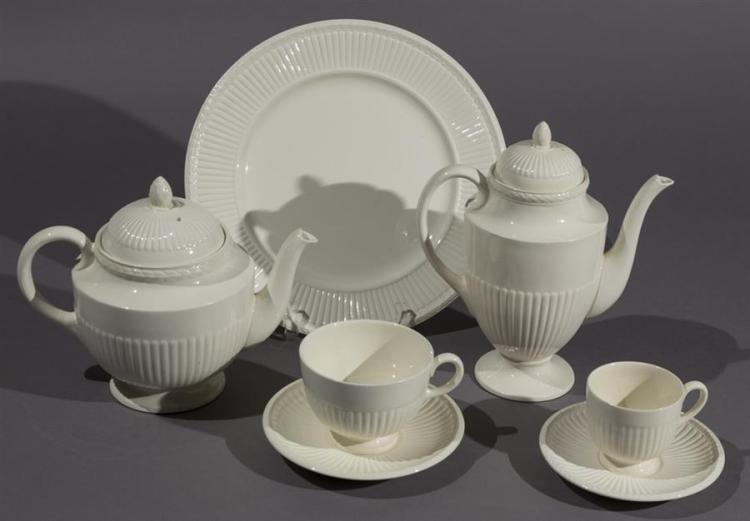 Wedgwood Creamware Dinner Service, EDME pattern