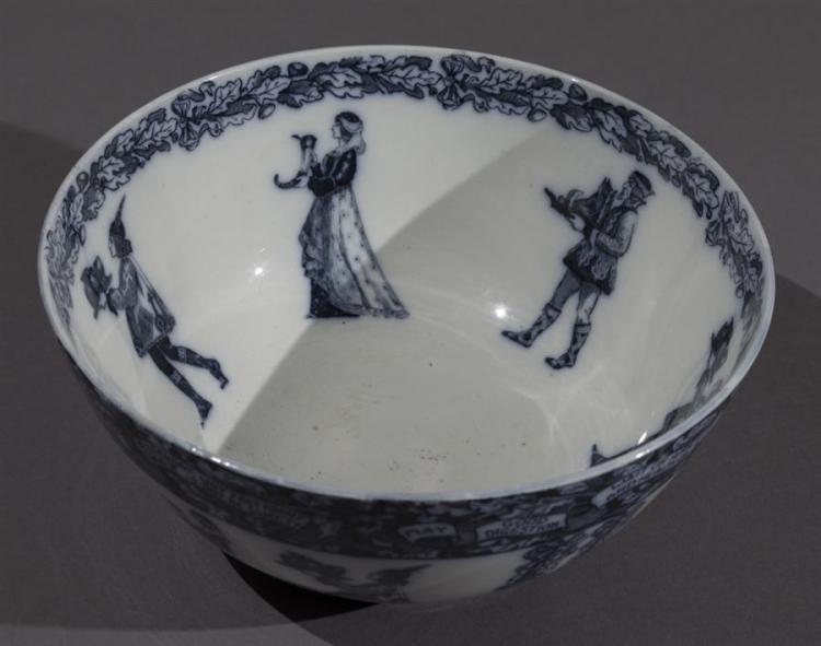 Rare English Bishop & Stonier Aztec Ware Fruit Bowl