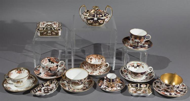 Collection of English Imari Porcelain