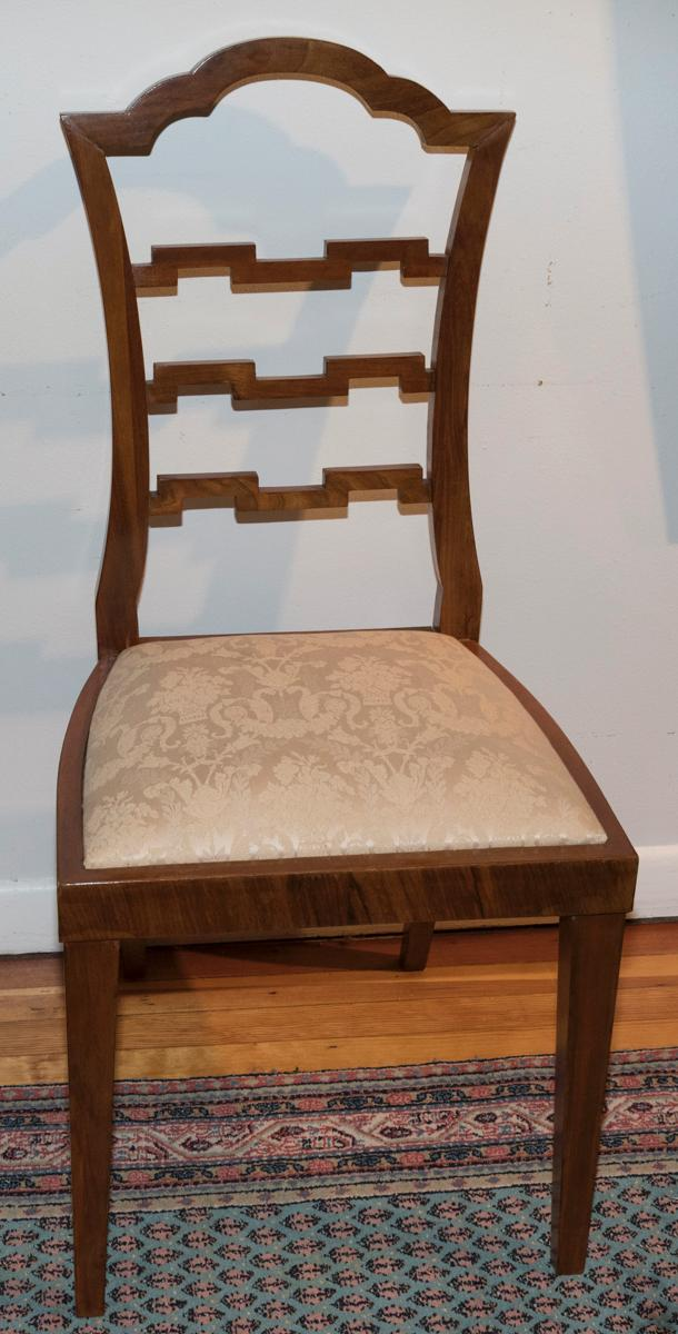 Set of Four Neoclassical Bentwood Side Chairs