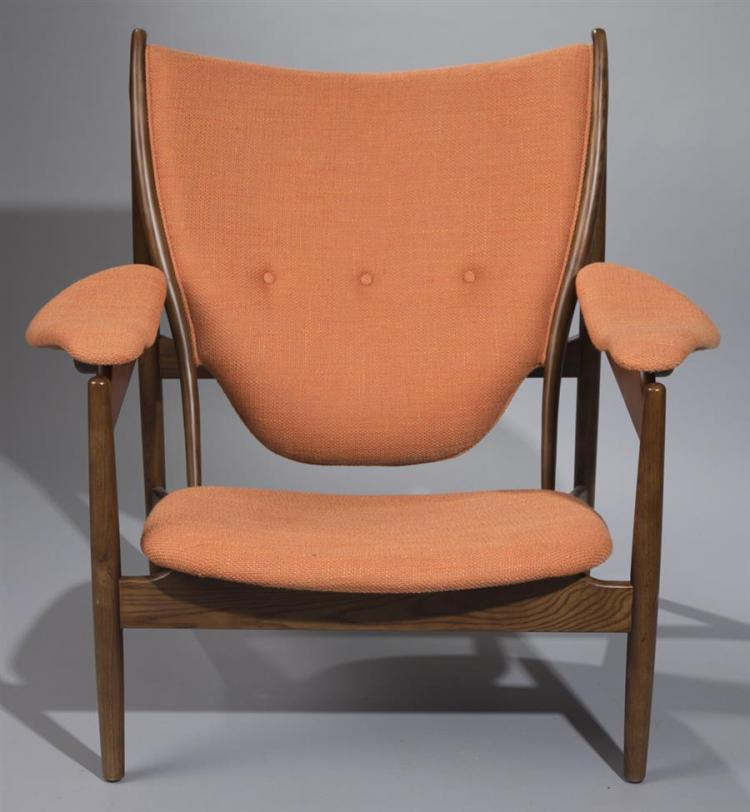 Danish modern oversized armchair for Oversized armchair