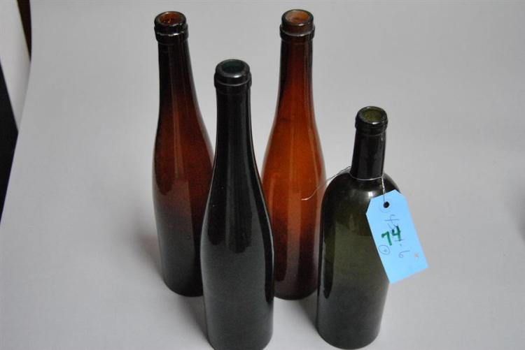 BOTTLE MOLDS AND SEAM DATING