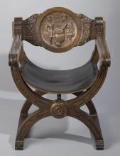 Italian Savonarola Chair