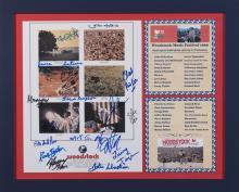 Woodstock Multi Photo 17 Signatures