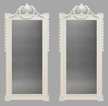 Pair Early 20th Century Wall Mirrors