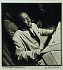 Herman Leonard, American (1923-2010), Bud Powell, Birdland, NYC, 1949, silver gelatin print, 12 15/16 x 12 5/16 inches, Herman Leonard, Click for value