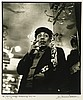Herman Leonard, American (1923-2010), Johnny Hodges, Brasserie Lipp, Paris, 1958, silver gelatin print, 14 3/8 X 12 1/4 inches, Herman Leonard, Click for value