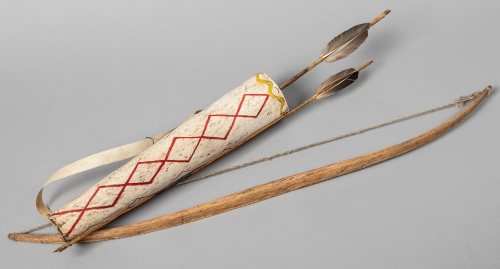Little Chief, Handmade Bow and Quiver with Arrows