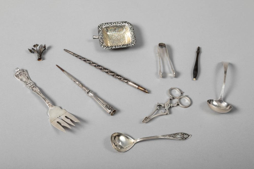 Selection of Sterling Silver Small Accessories