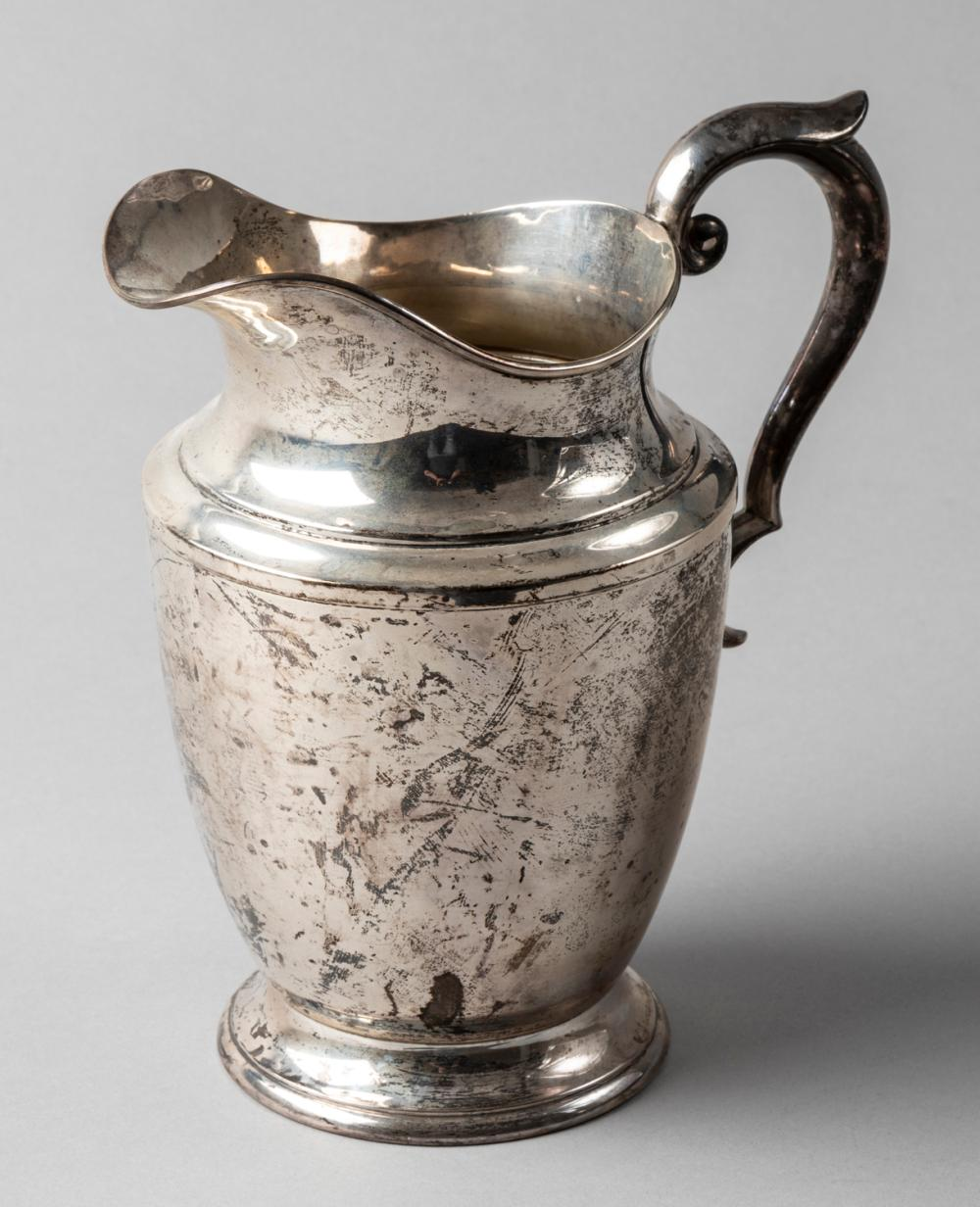 Sterling Silver Water Pitcher by Alvin