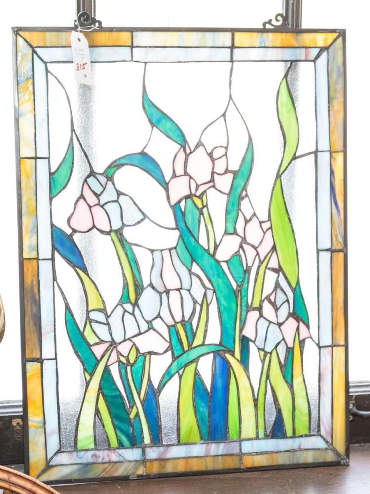 Stained glass window 24 x 18 inches for 18 x 24 window