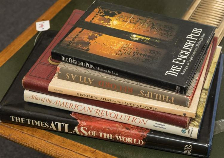 Collection of six books,