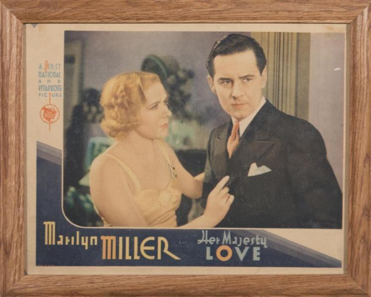 Her Majesty Love, 1931, with W.C. Fields, lobby card