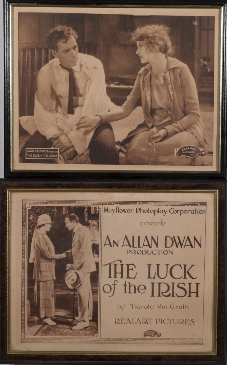 The Luck of the Irish, 1920, complete set of eight lobby cards