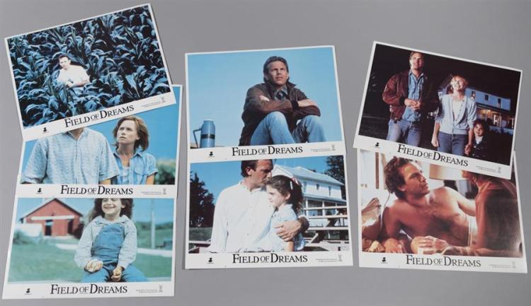 Field of Dreams, 1989, seven of eight lobby cards