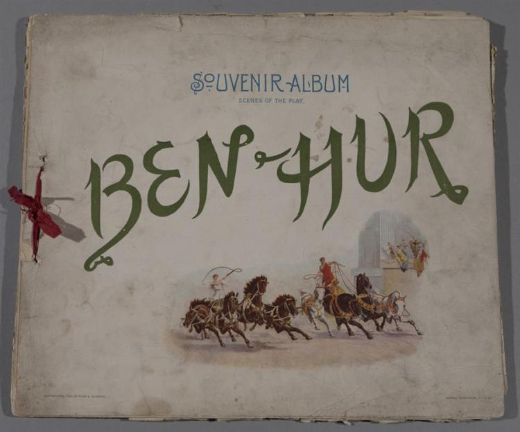 Souvenier Album of Ben Hur, the play, from 1900