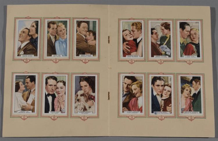 Complete album of Park Drive cigarette cards with 48 cards, fine condition.