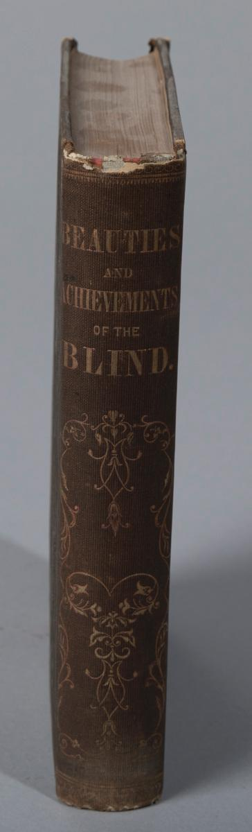 Artman, Wm.: Beauties and Achievements of the Blind; 1858.